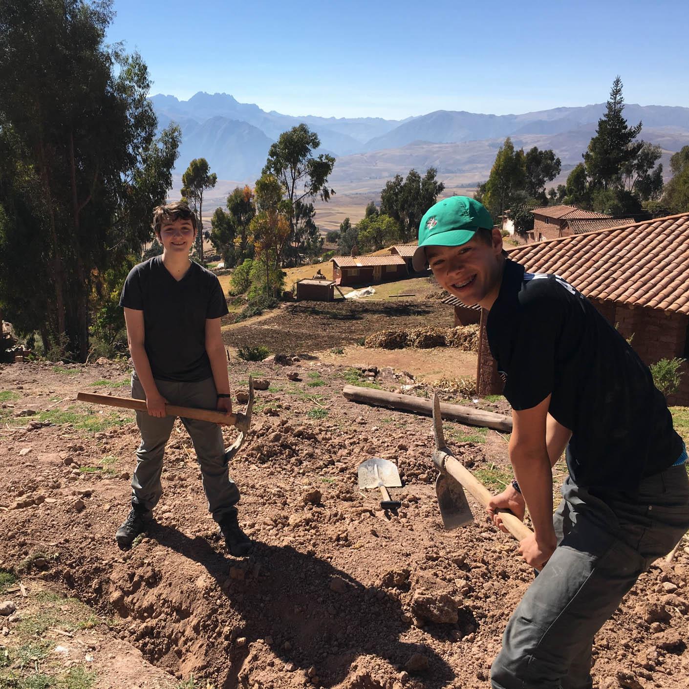 Peru Service community service