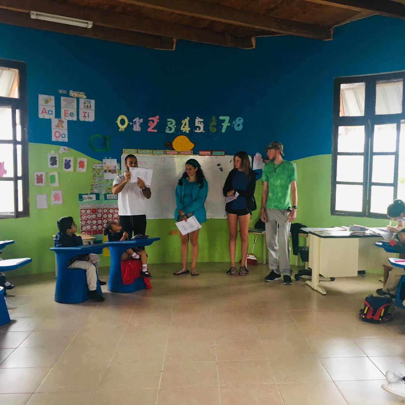 Ecuador Galapagos community service