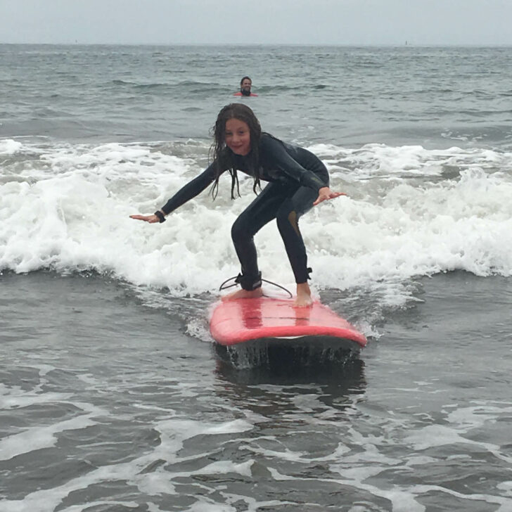 California Discovery surfing