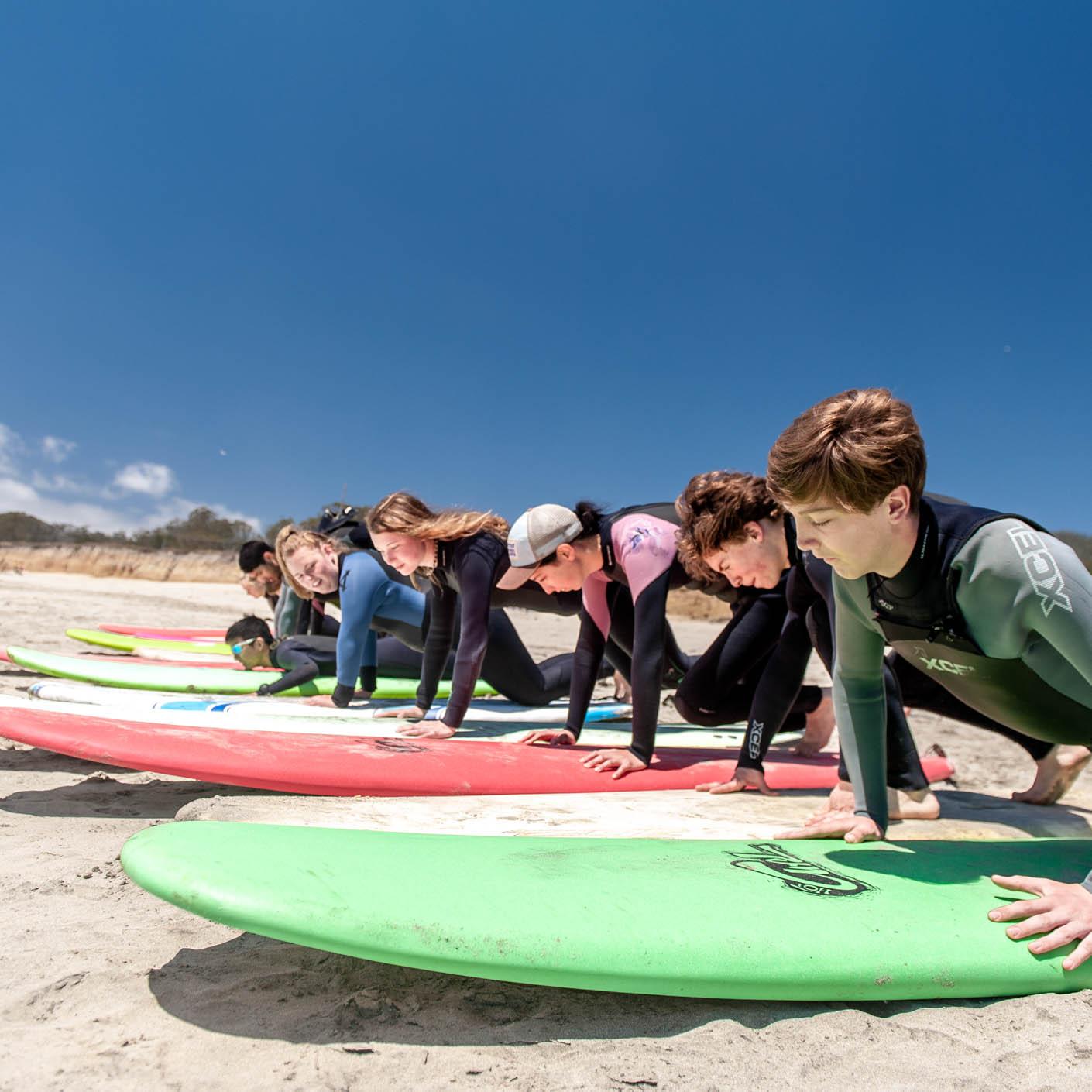 California Explorer surfing