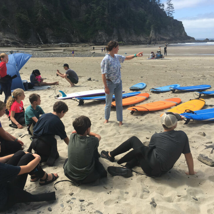 Pacific Northwest Discovery rock surfing