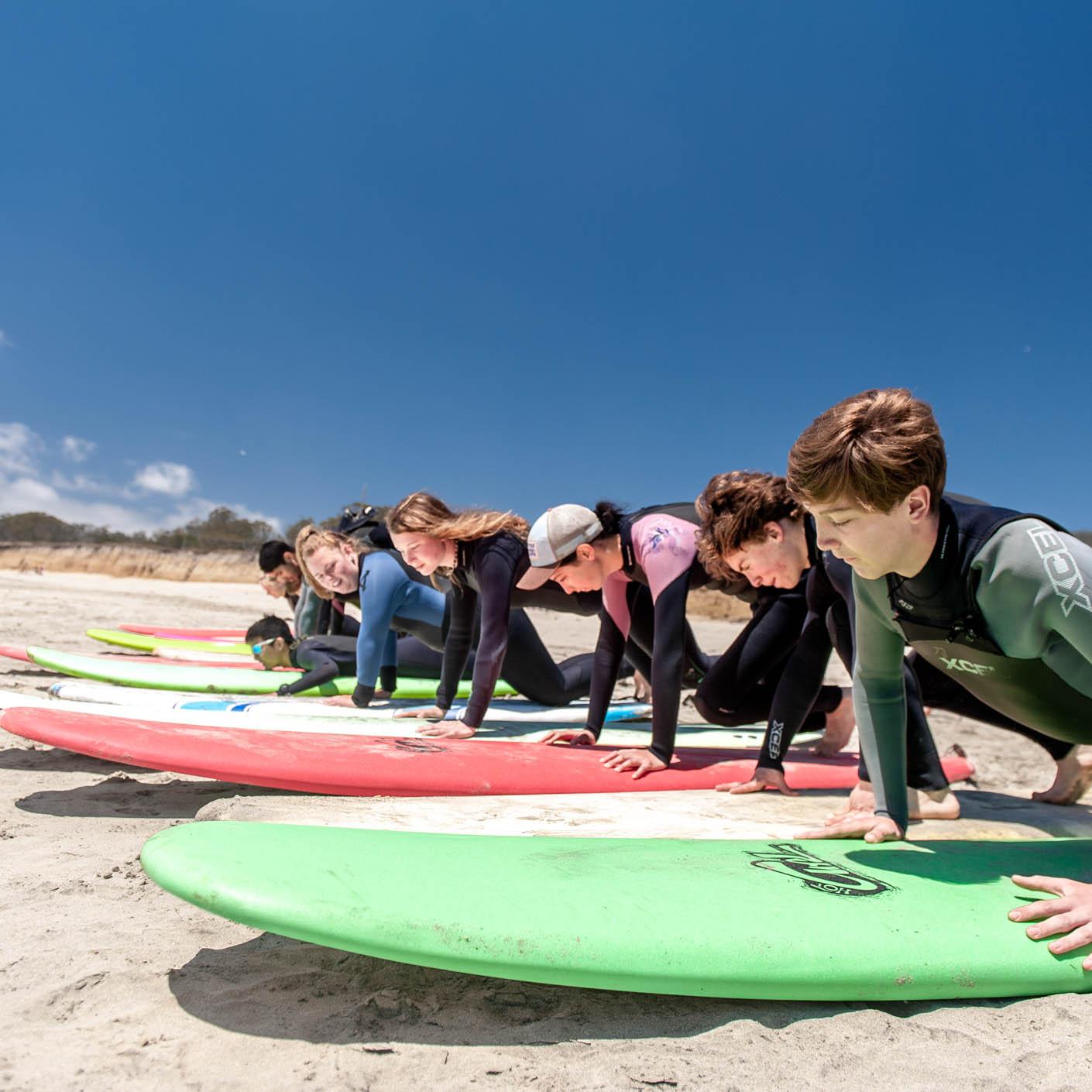 High Sierra surfing