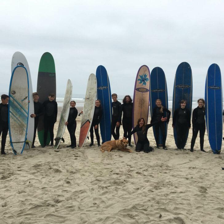The Great Northwest surfing