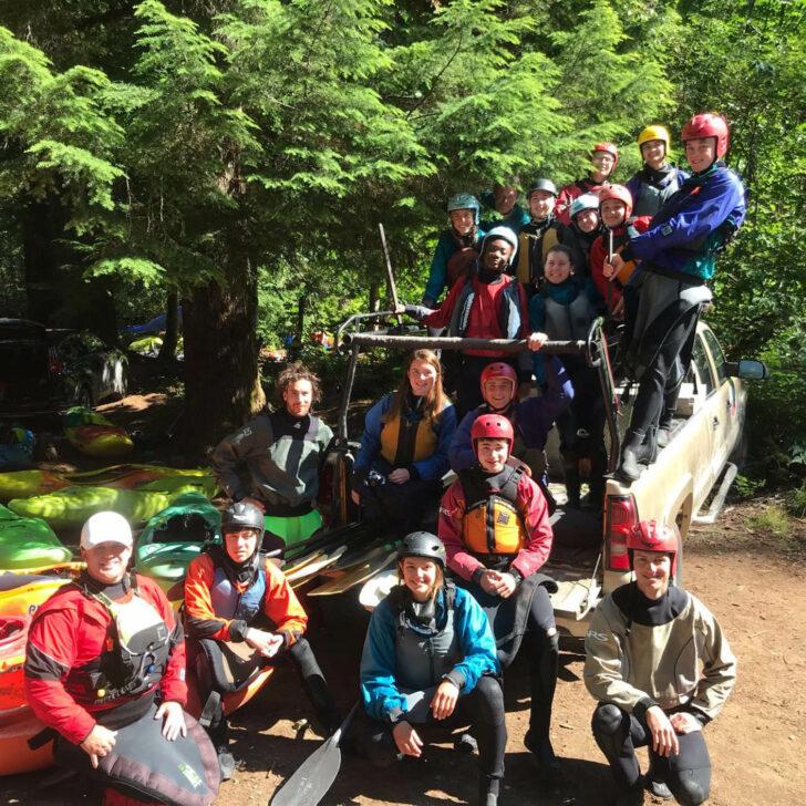 British Columbia whitewater kayaking