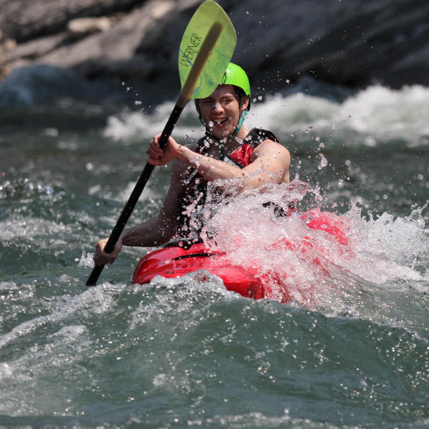 Jackson Hole High Trails whitewater kayaking