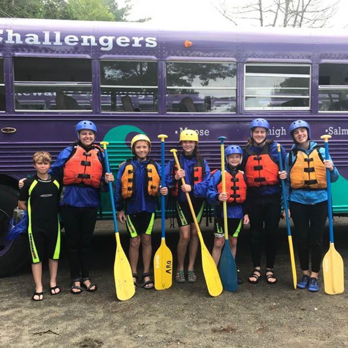 Adirondack Discovery whitewater rafting bus