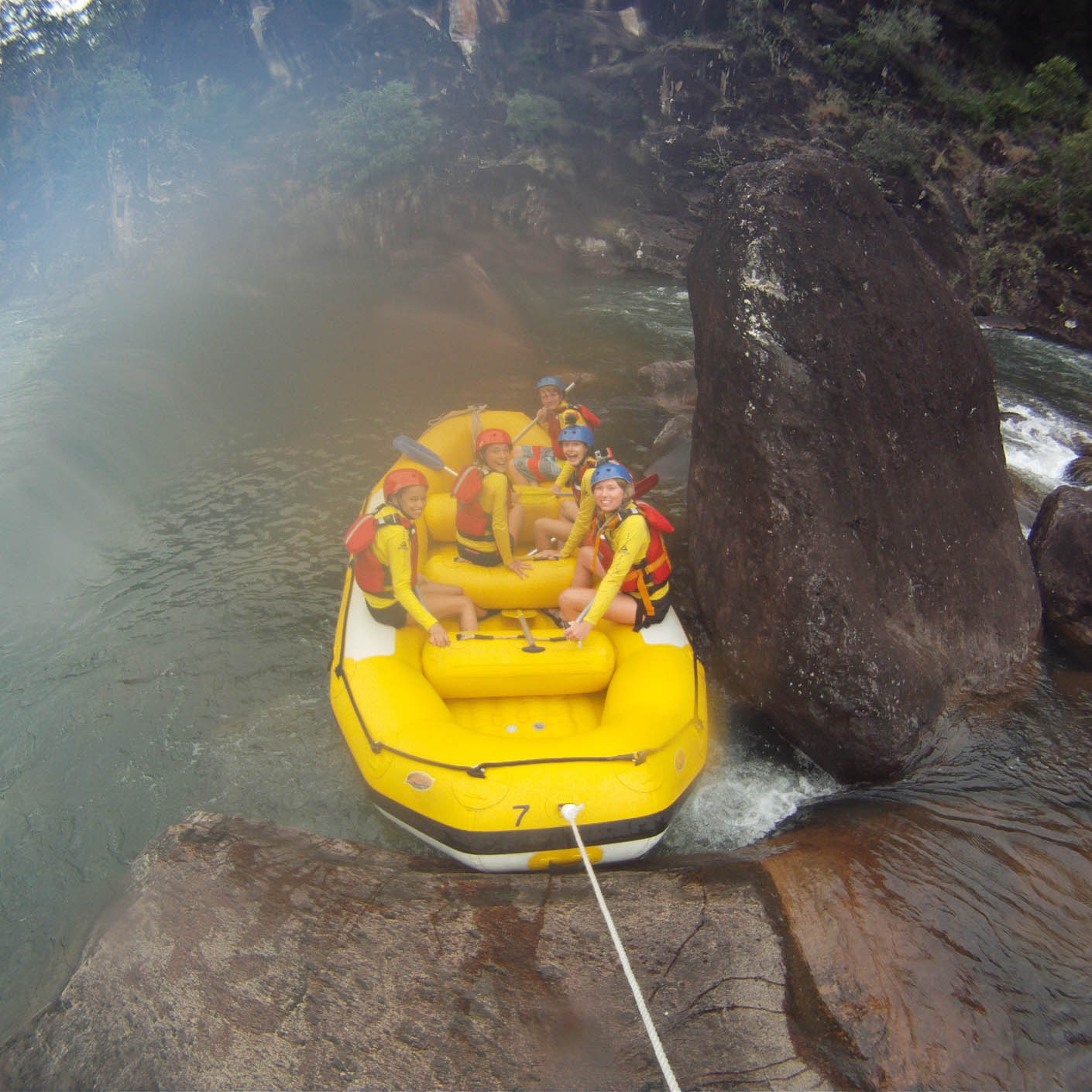Australia whitewater rafting