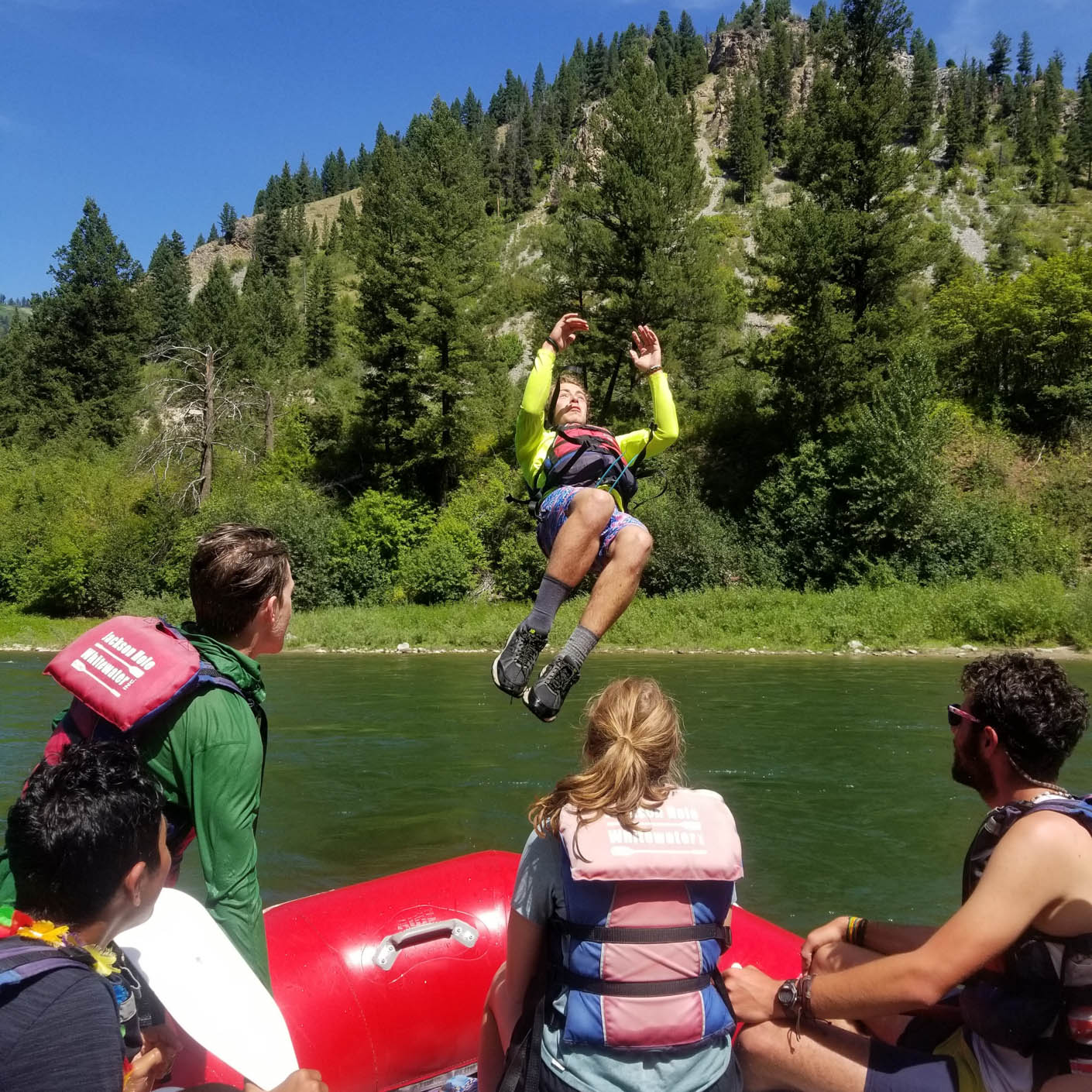 Grand Teton whitewater rafting