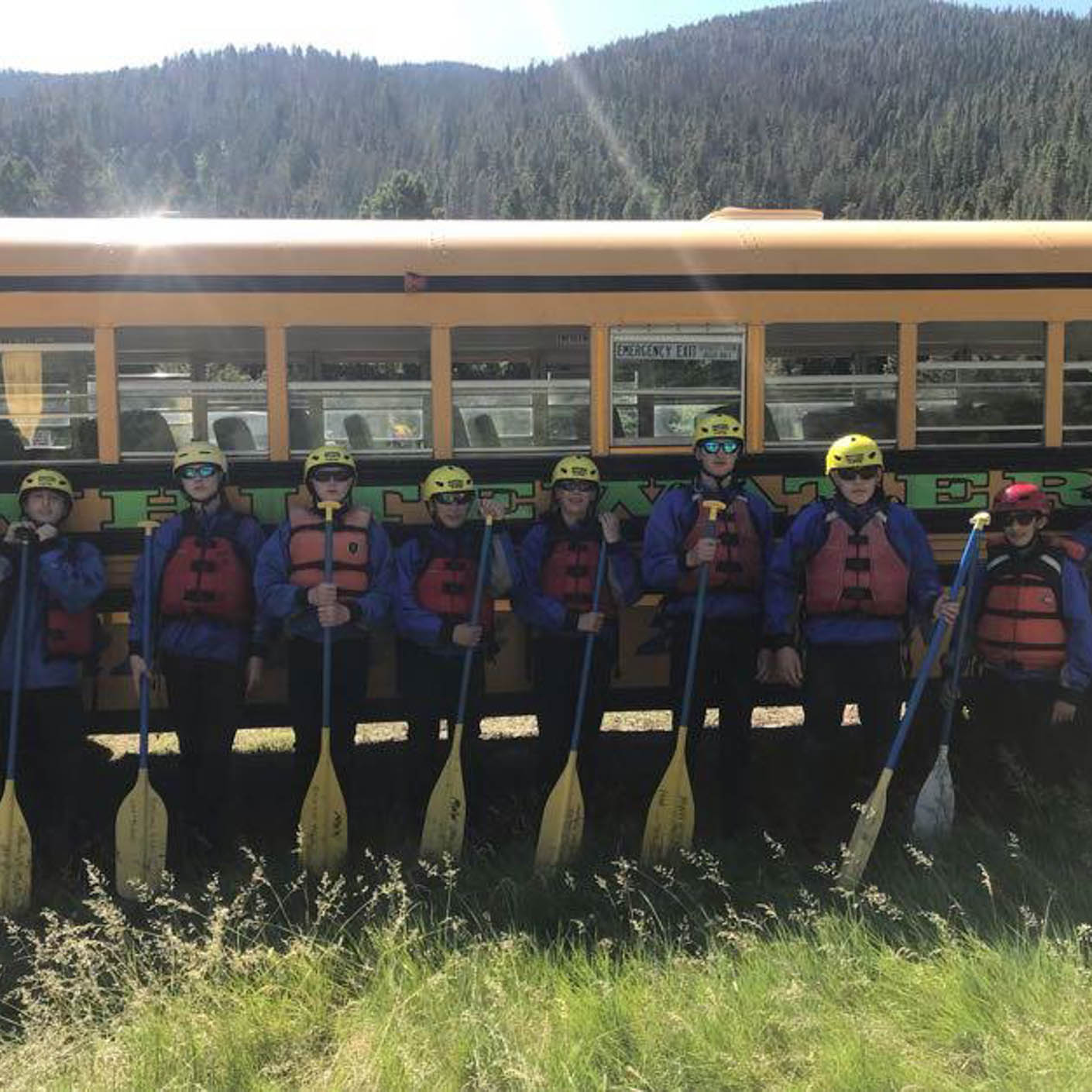 Montana Fly Fishing whitewater rafting