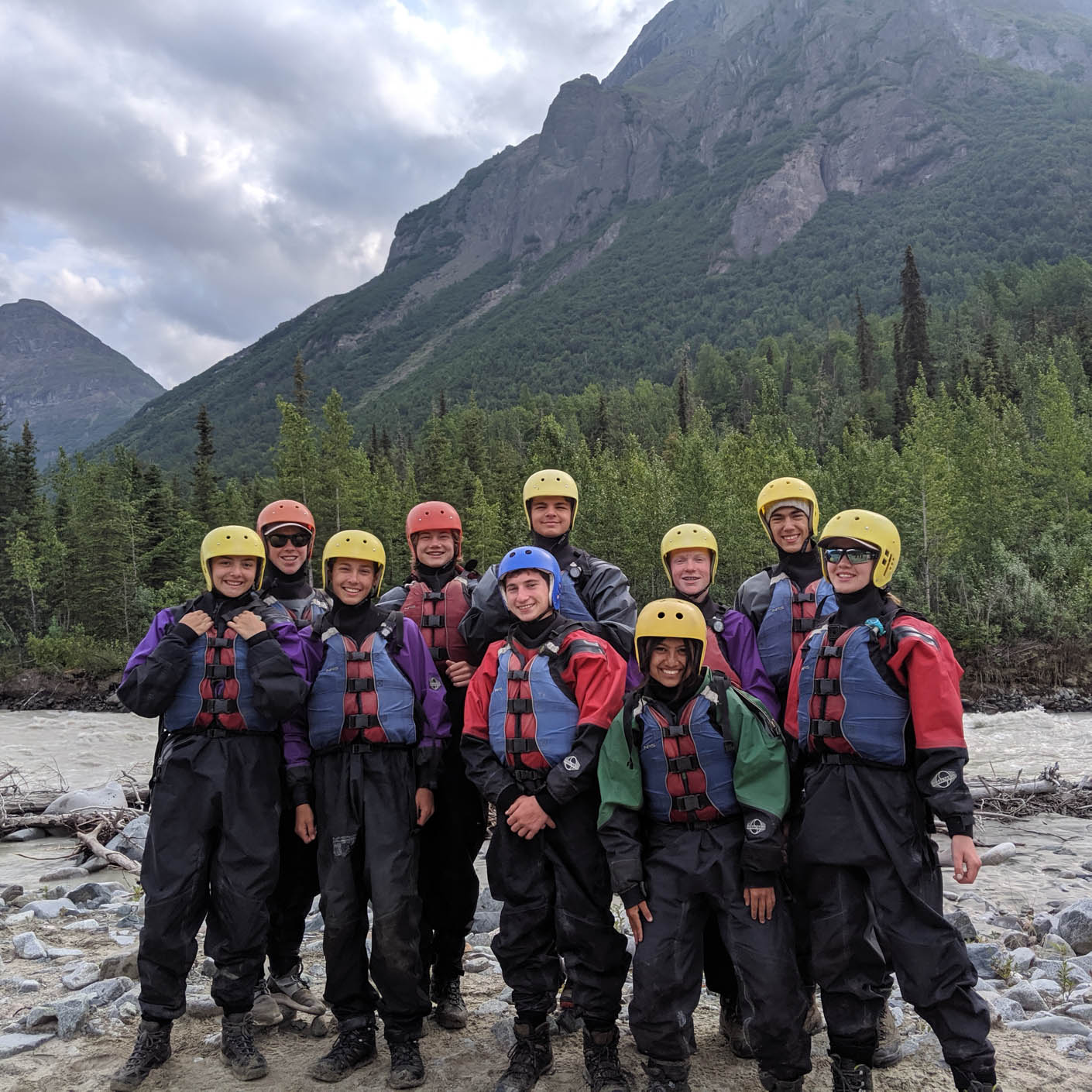 Alaska Southcentral whitewater rafting