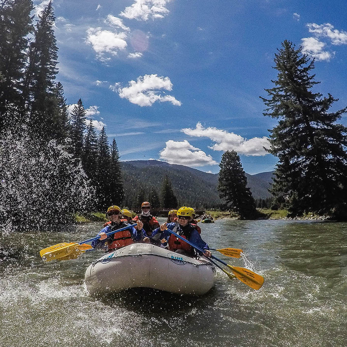 Yellowstone Explorer whitewater rafting