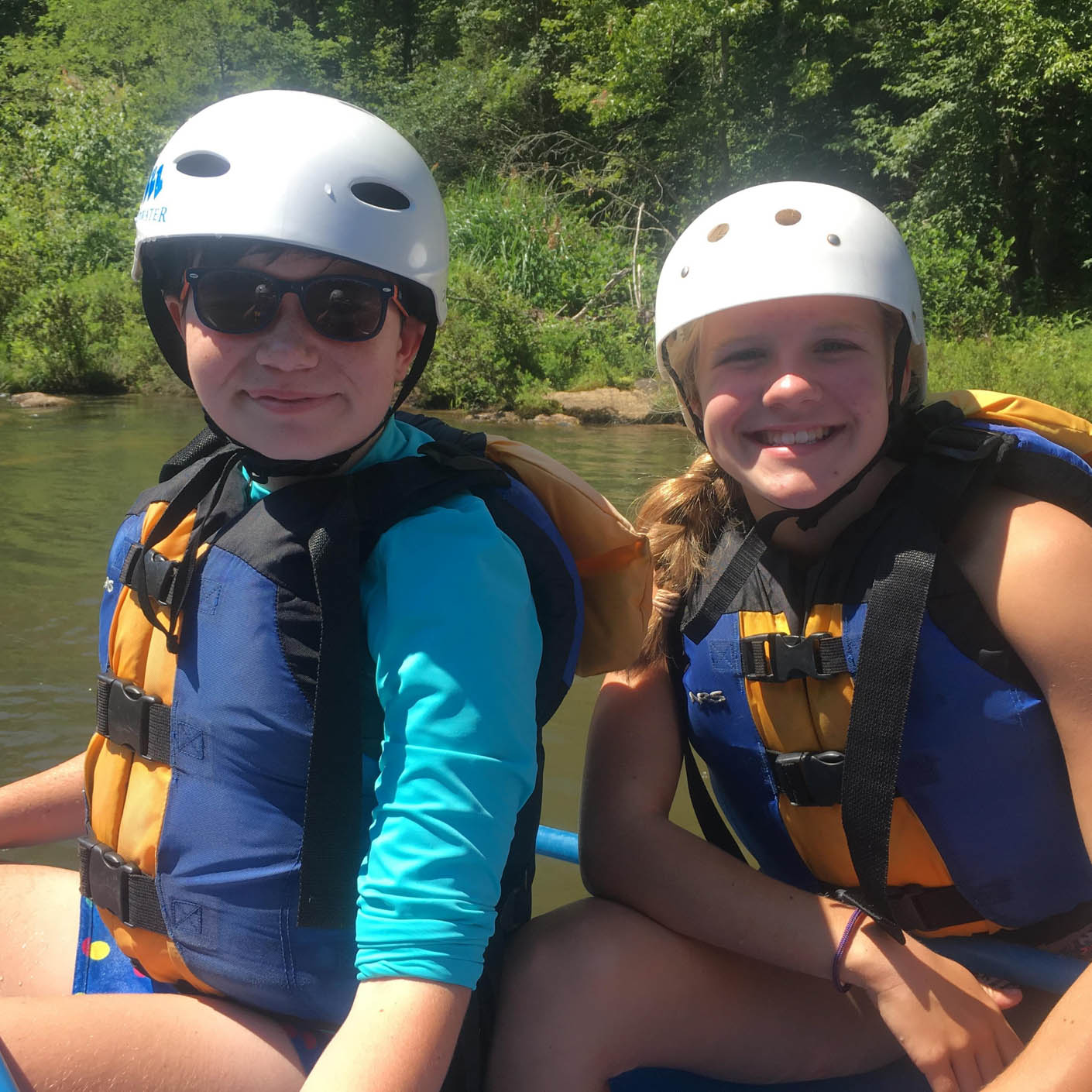 Carolina Blue whitewater rafting
