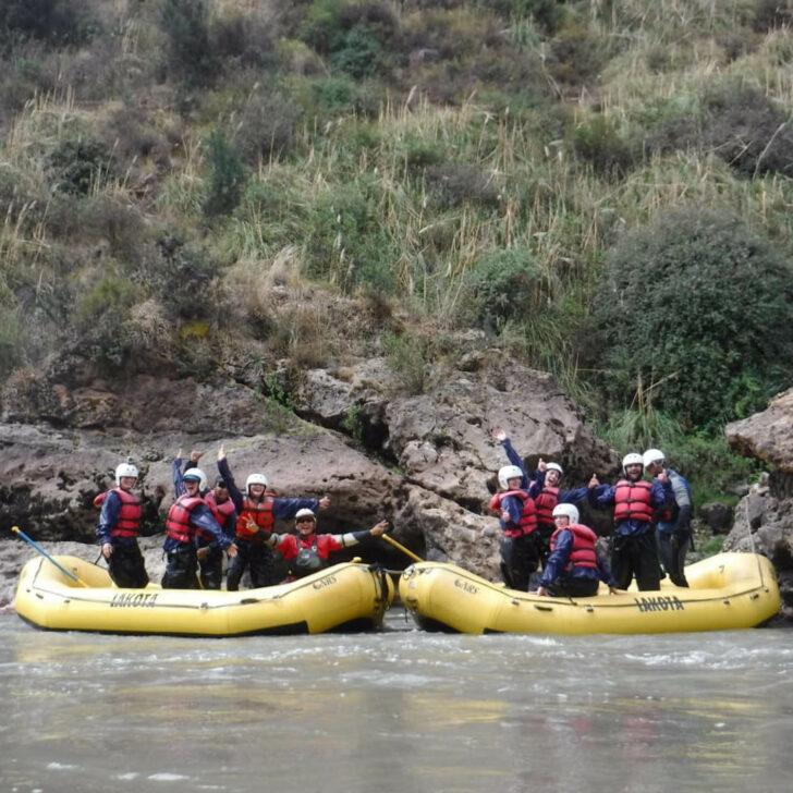 Peru Service whitewater rafting