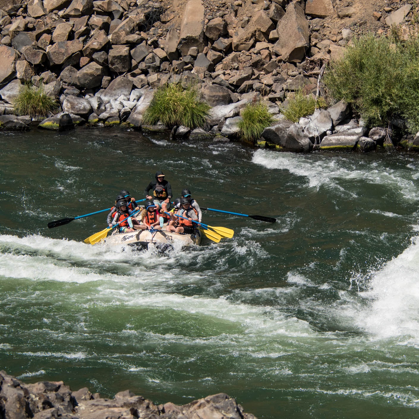 Pacific Northwest Discovery rock whitewater rafting