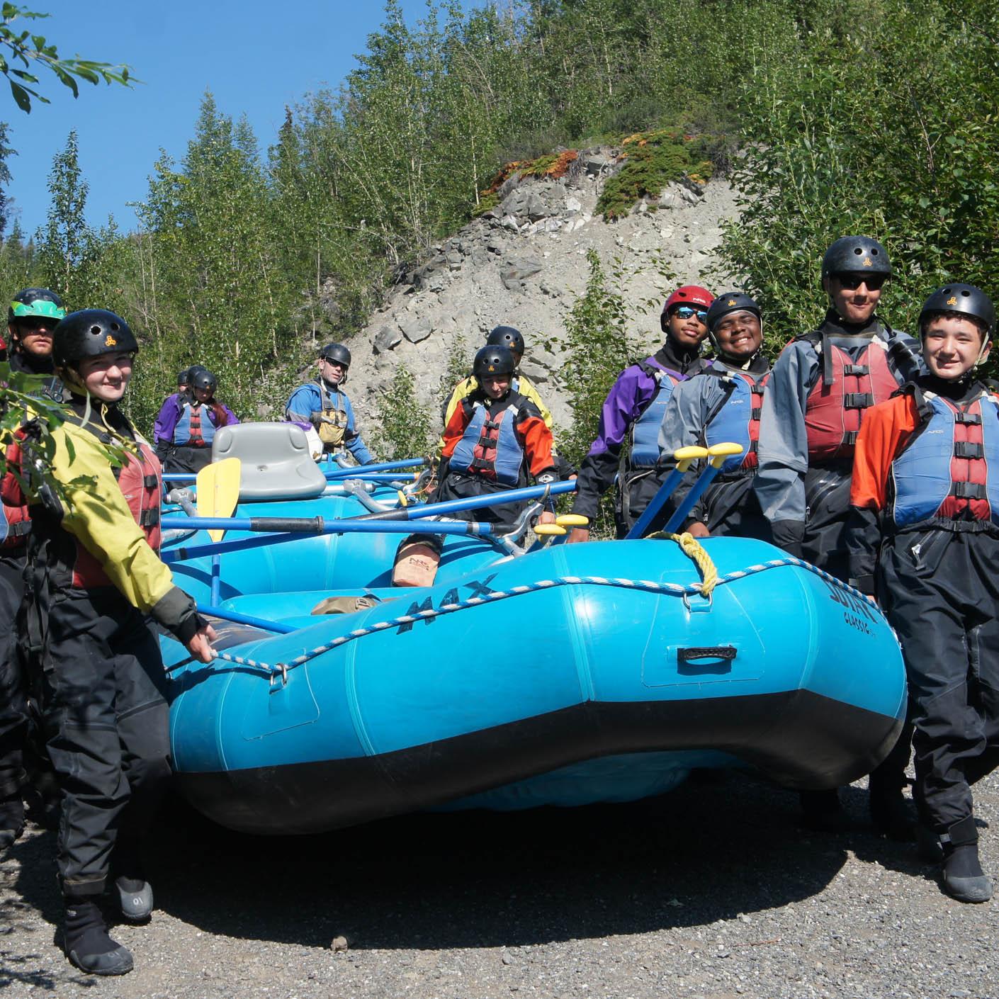 Alaska High Trails whitewater rafting