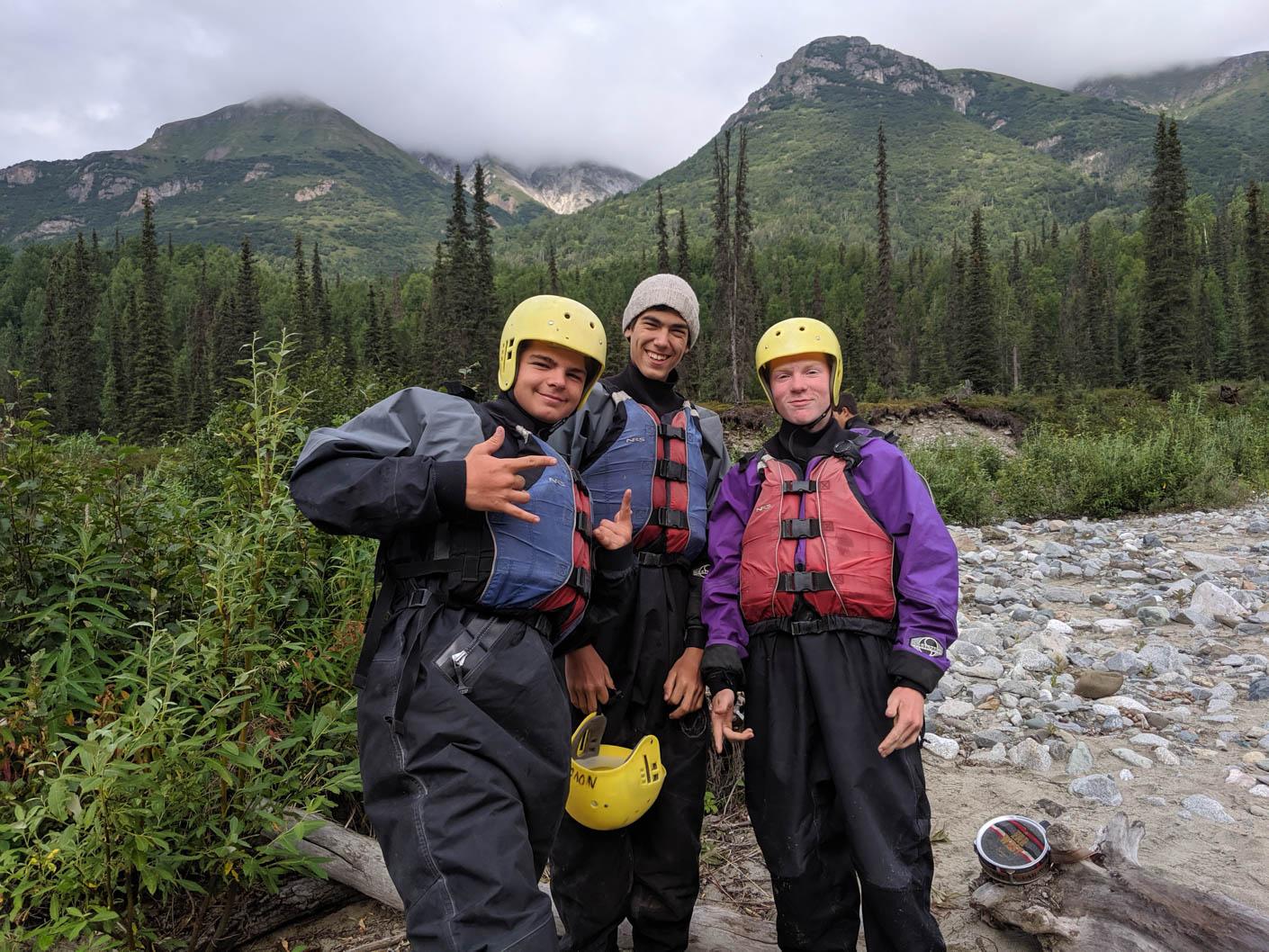 Alaska Southeast whitewater rafting