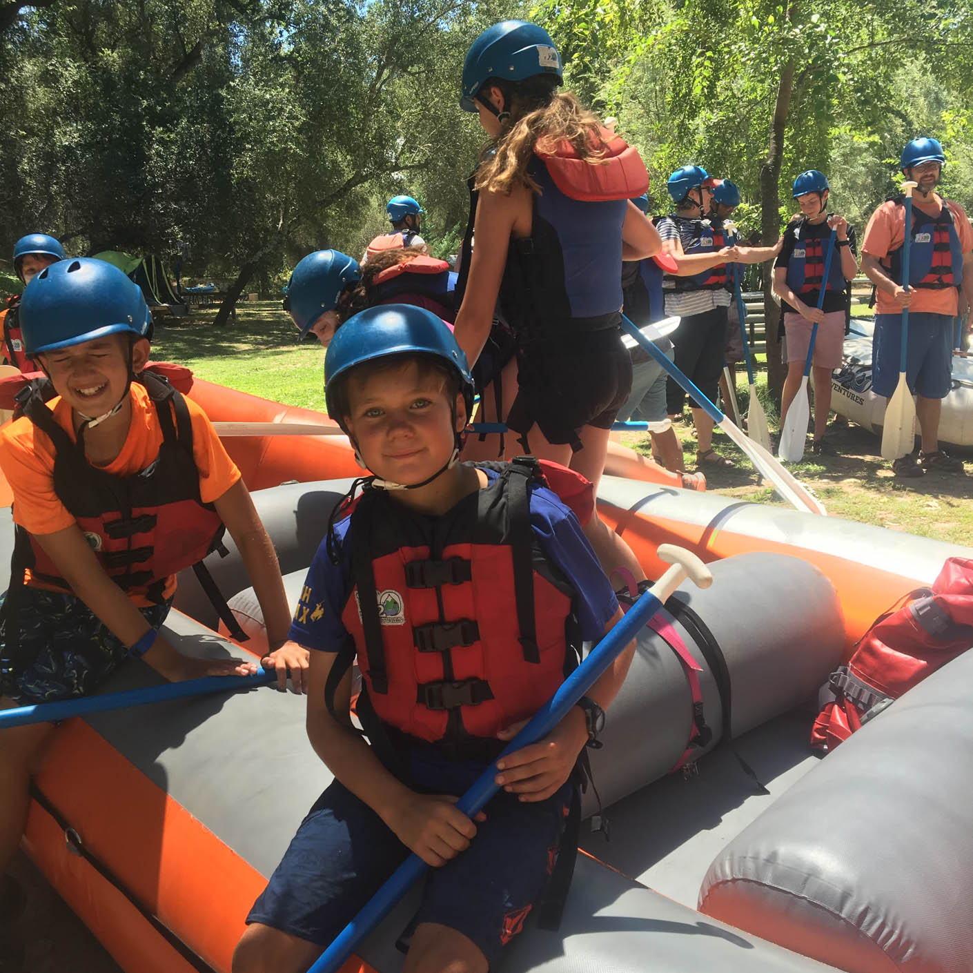 California Discovery whitewater rafting