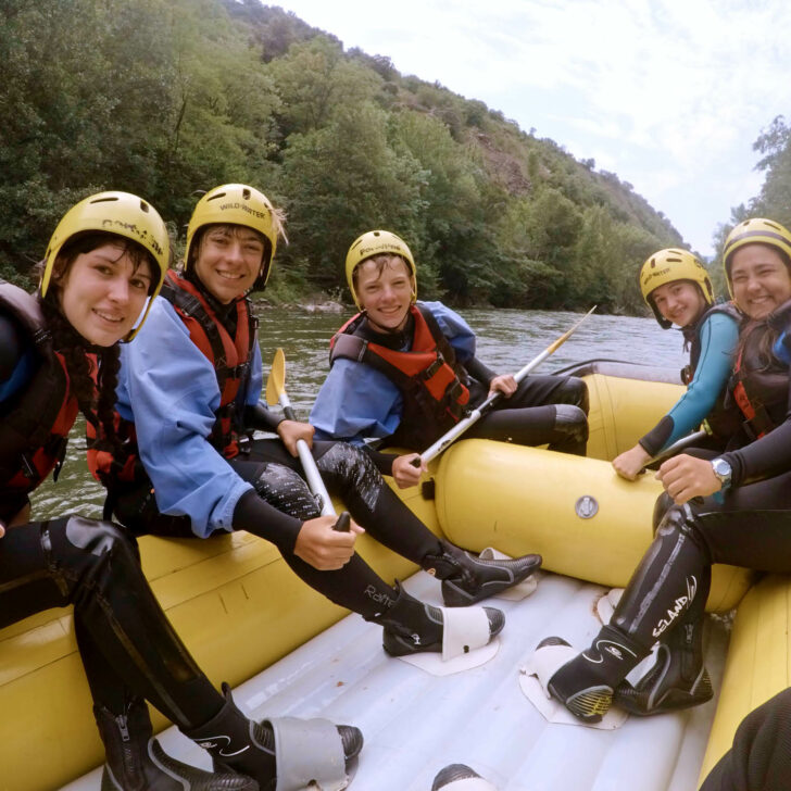 Alps & Pyrenees whitewater rafting