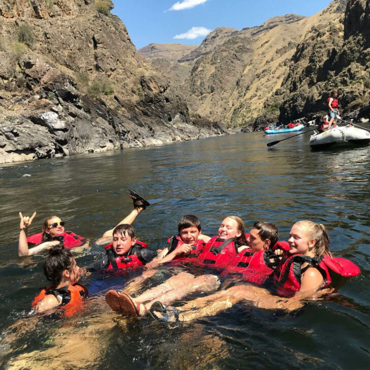 The Great Northwest whitewater rafting