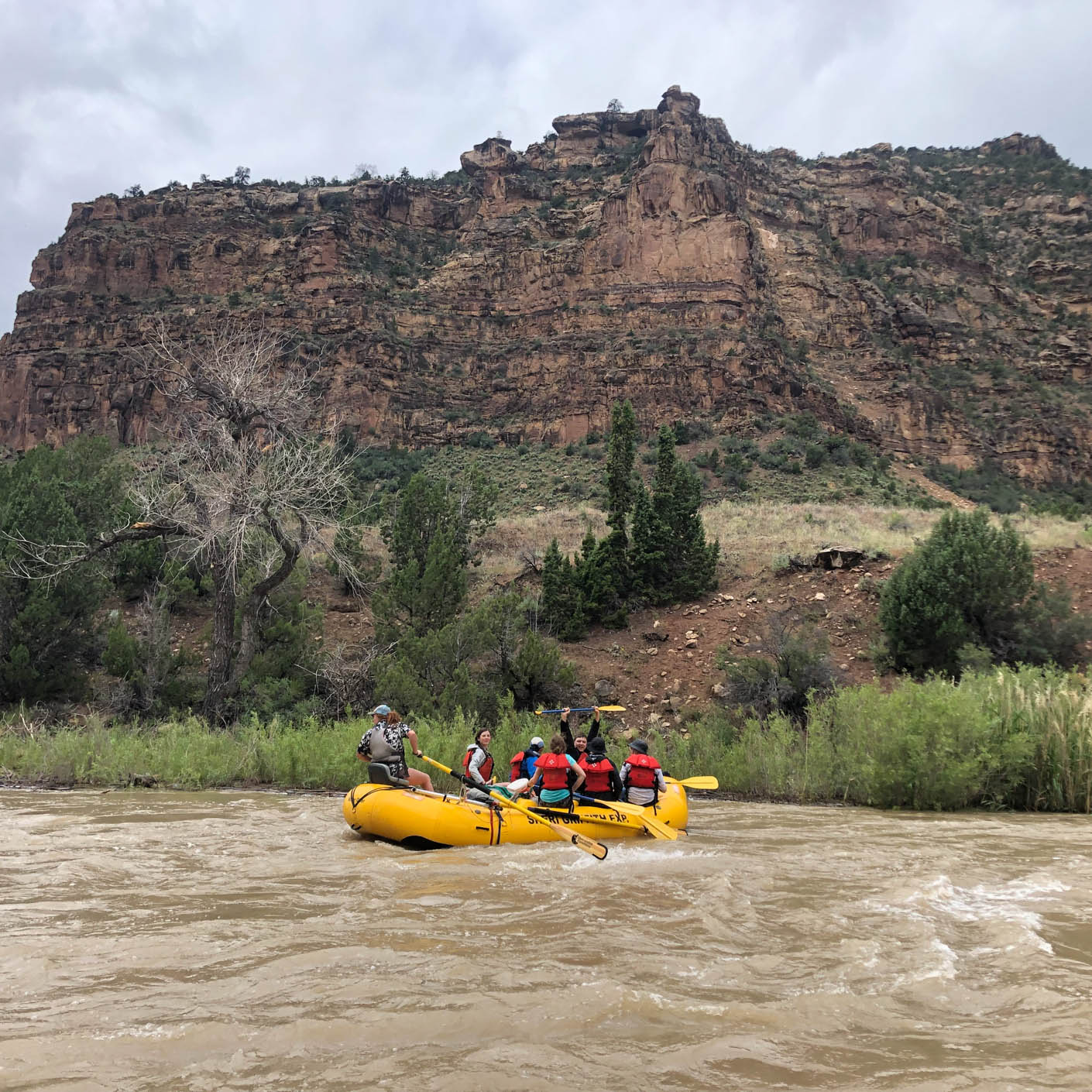 Utah Red Rocks whitewater rafting