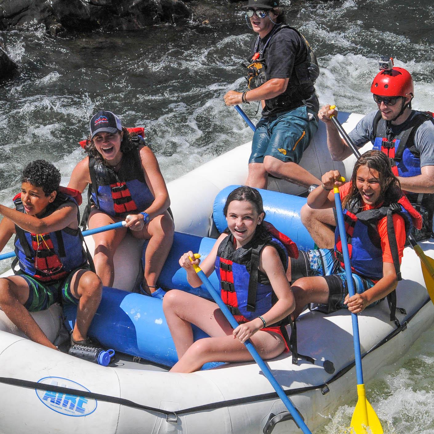 California Explorer whitewater rafting
