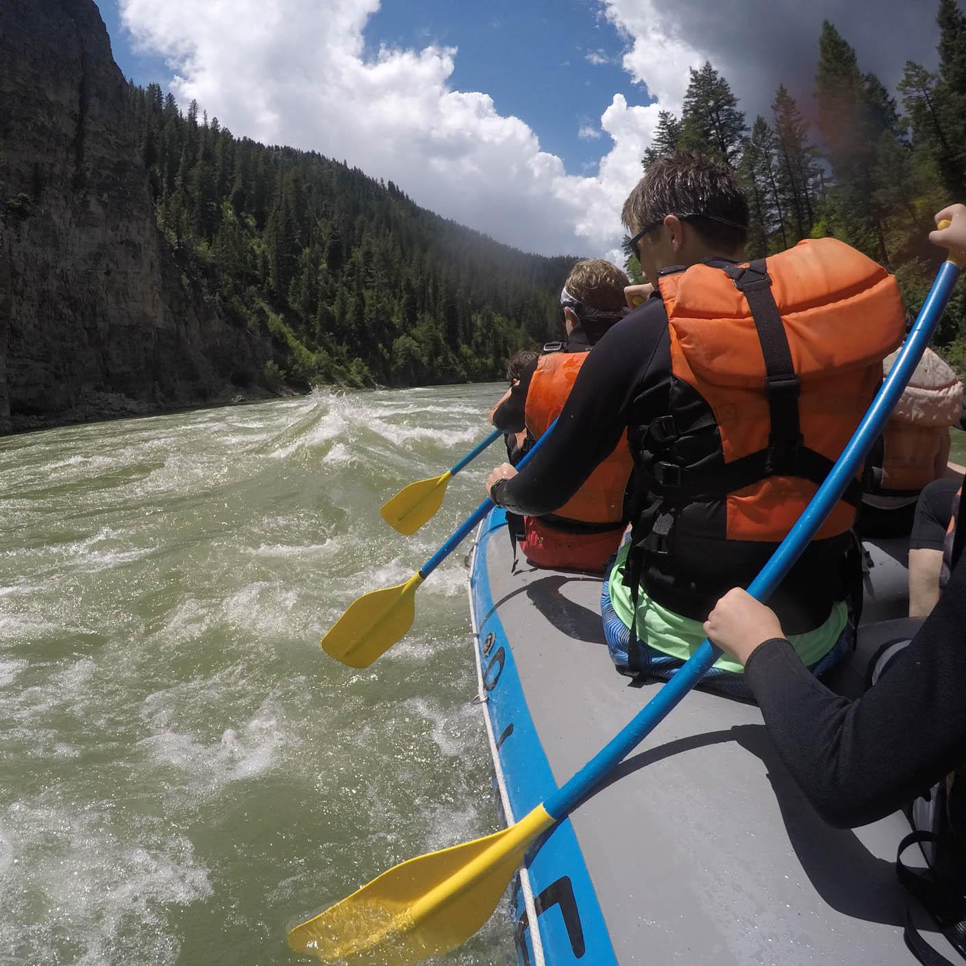 Jackson Hole Fly Fishing whitewater rafting