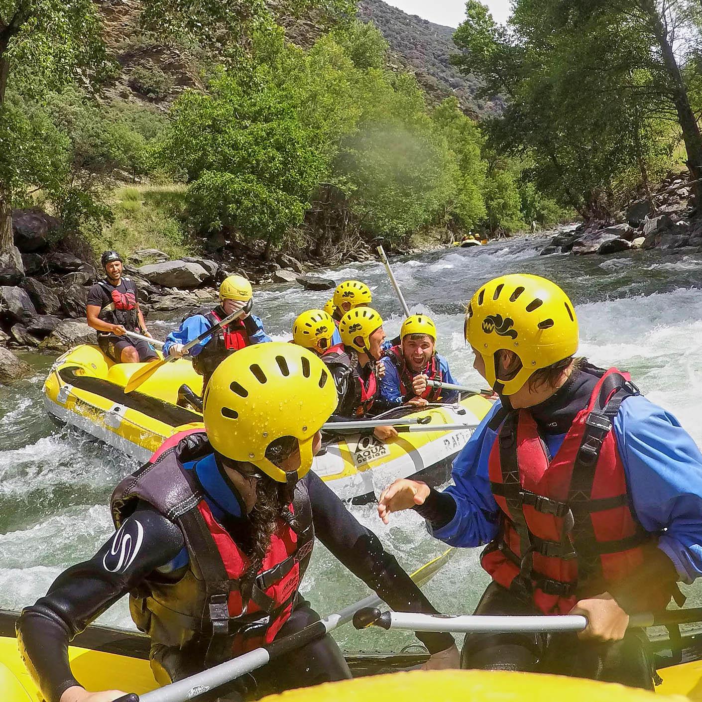 Europe Alps Explorer whitewater rafting
