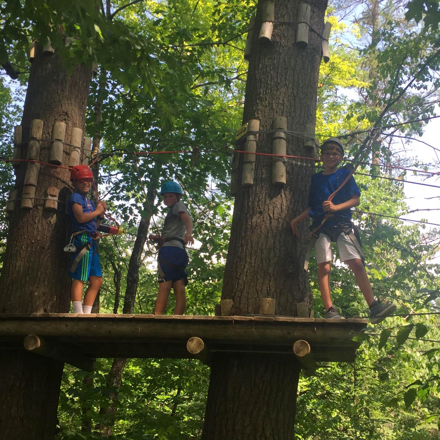 Adirondack Discovery zipline