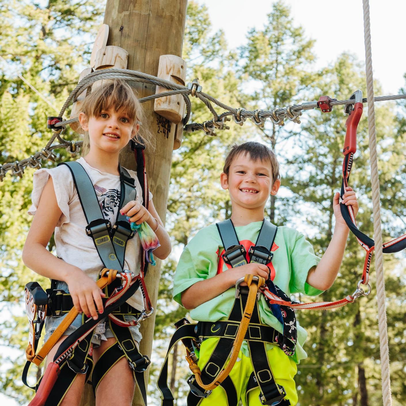 Jackson Hole Basecamp adrenaline course