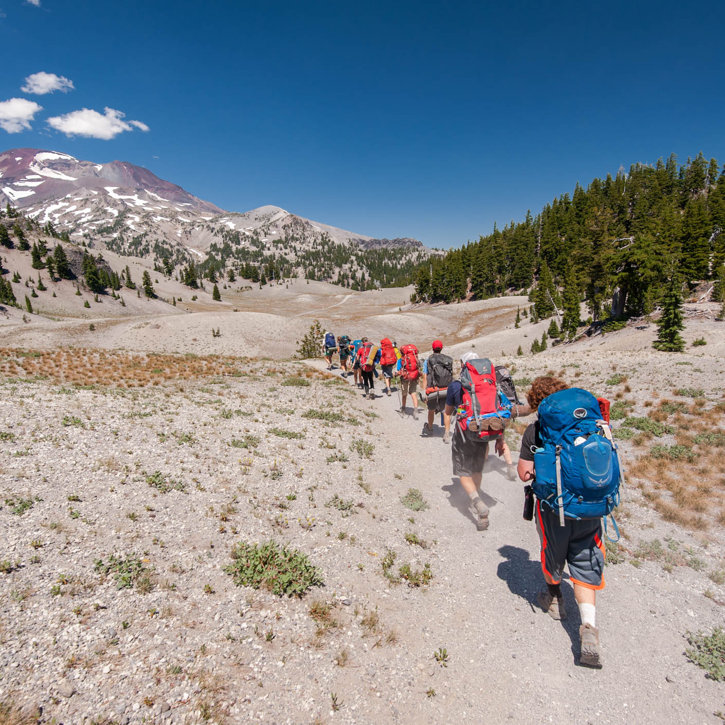 Oregon Cascades Explorer backpacking