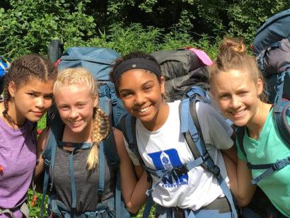 Carolina Blue backpacking