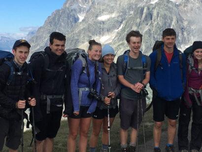 Chamonix Zermatt group photo