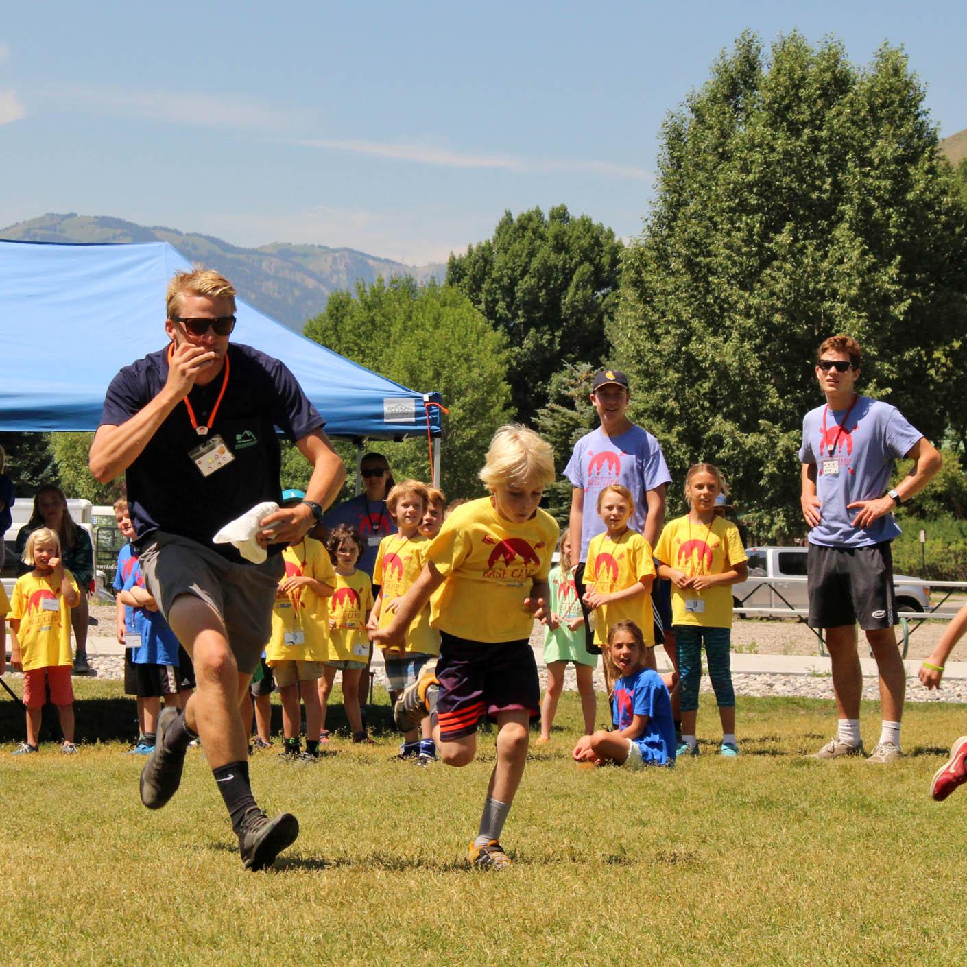 Jackson Hole Basecamp field games