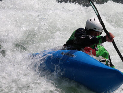 Jackson Hole High Trails whitewater kayaking
