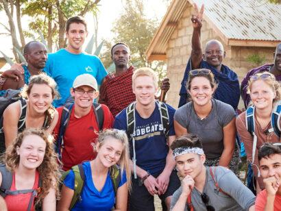 Kilimanjaro group photo