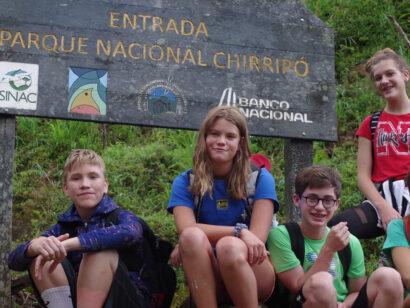 Group photo on the Costa Rica Pura Vida trip