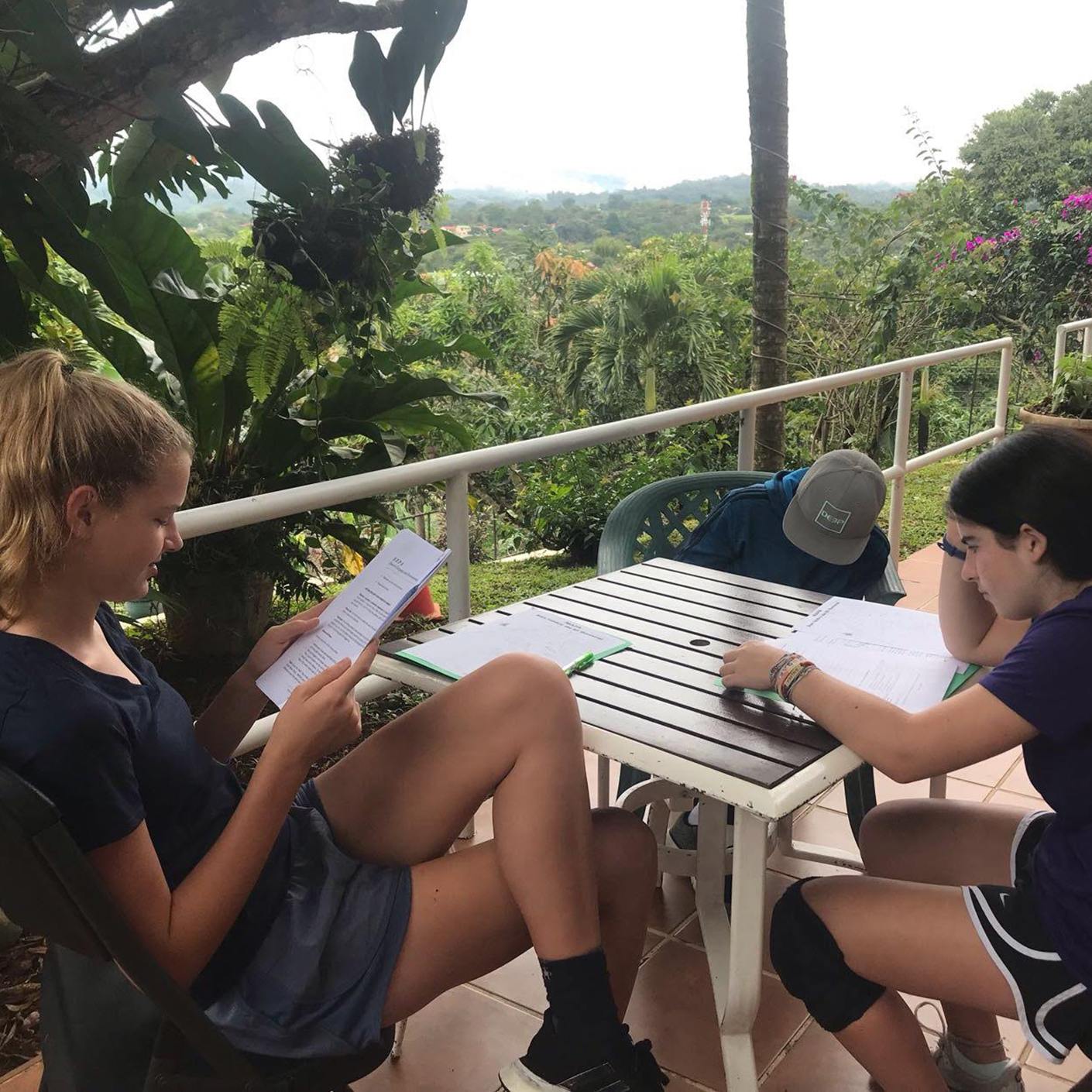 Working on the Costa Rica Pura Vida trip